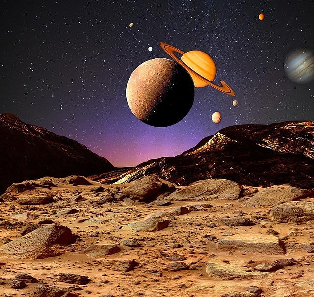 planety ve vesmíru