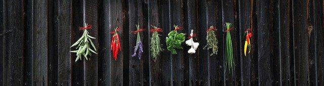 Zavěšené bylinky