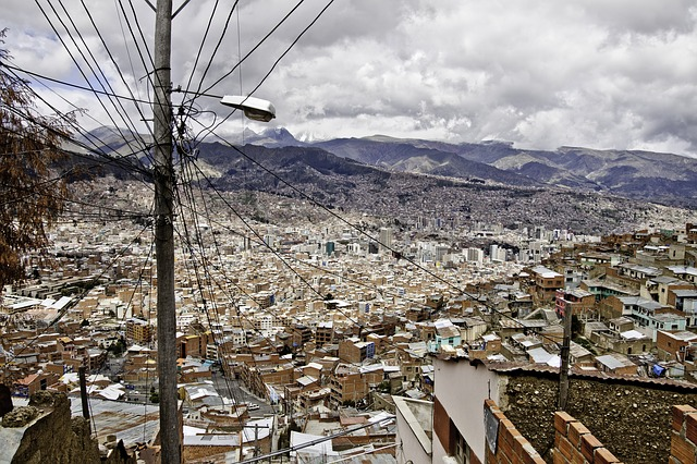 La Paz, metropole