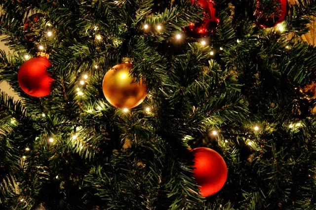 vánoční baňky, stromeček